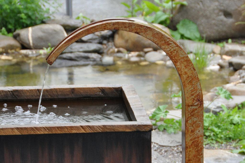 Brunnen und Brunnenstöcke
