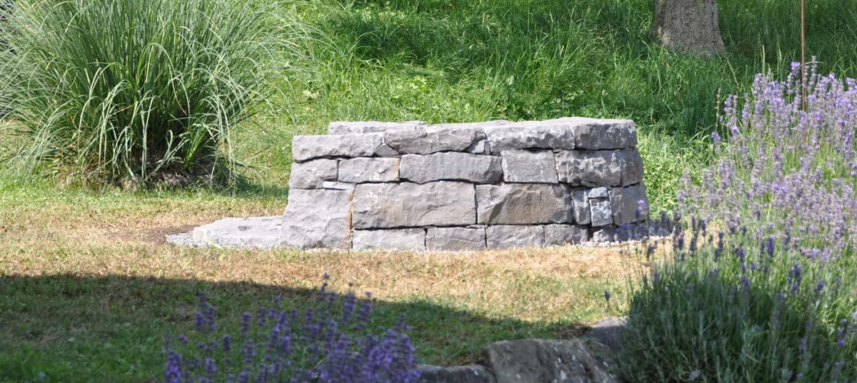 Feuerstellen Natursteinmauern