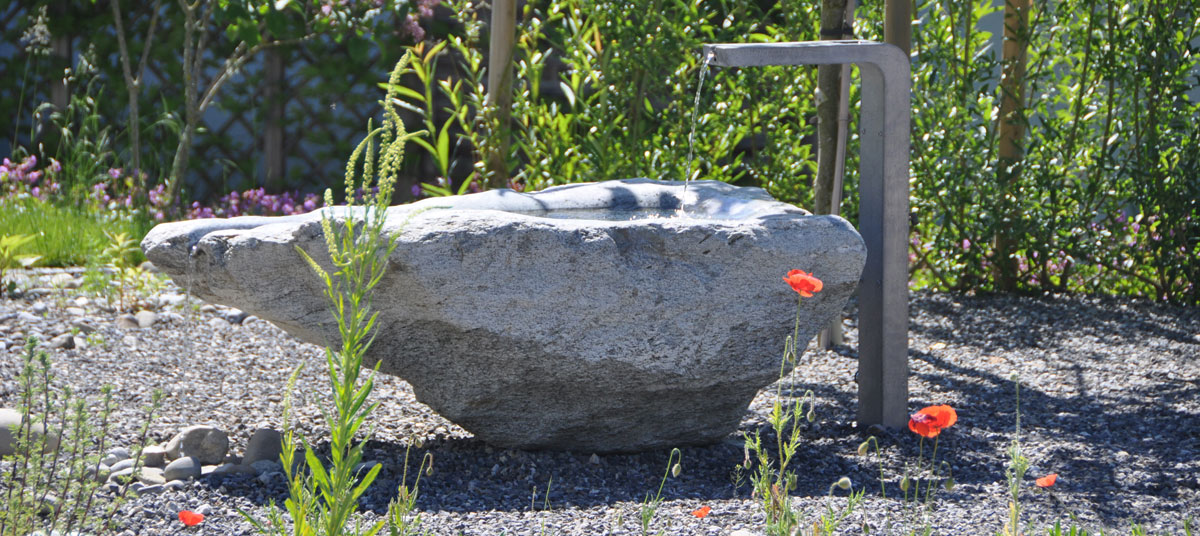 Gestaltung - Brunnenbau